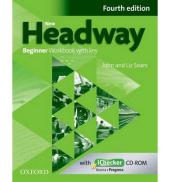 New Headway 4th Edition Beginner: Workbook with Key with iChecker CD-ROM - фото обкладинки книги