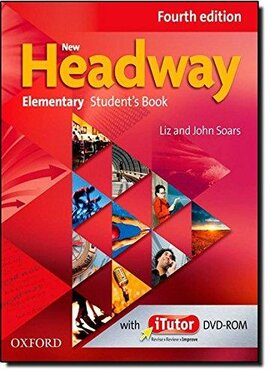 New Headway 4th Edition Elementary: Student's Book with iTutor DVD(підручник) - фото книги