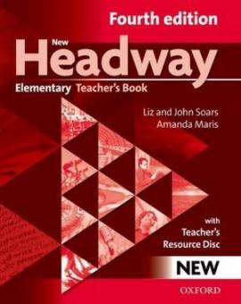 New Headway 4th Edition Elementary:Teacher's Book with Teacher's ResourceCD(книга вчителя) - фото книги