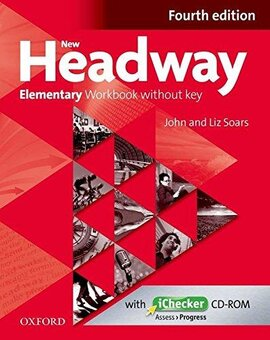 New Headway 4th Edition Elementary: Workbook without Key with iChecker CD - фото книги
