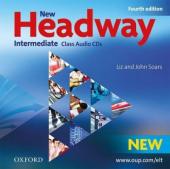 New Headway 4th Edition Intermediate: Class Audio CDs (аудіодиск) - фото обкладинки книги