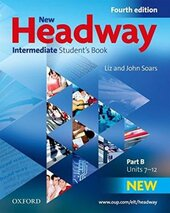 New Headway 4th Edition Intermediate: Student's Book wit iTutor DVD (підручник) - фото обкладинки книги