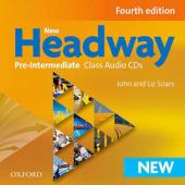 New Headway 4th Edition Pre-Intermediate: Class Audio CDs (аудіодиск) - фото обкладинки книги