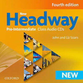 New Headway 4th Edition Pre-Intermediate: Class Audio CDs (аудіодиск) - фото книги