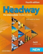 New Headway 4th Edition Pre-Intermediate: Student's Book with iTutor DVD (підручник) - фото обкладинки книги