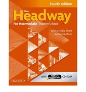 New Headway 4th Edition Pre-Intermediate: Teacher's Book with Teacher's (книга вчителя) - фото обкладинки книги