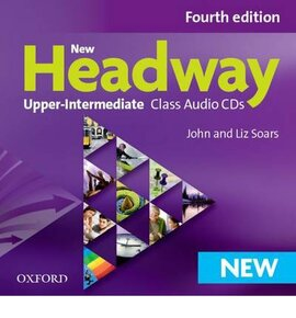 New Headway 4th Edition Upper-Intermediate: Class Audio CDs (аудіодиск) - фото книги