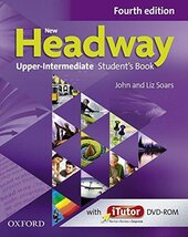 New Headway 4th Edition Upper-Intermediate: Student's Book with iTutor DVD(підручник) - фото обкладинки книги