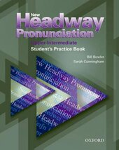 New Headway Pronunciation Upper-Intermediate. Student's Practice Book - фото обкладинки книги