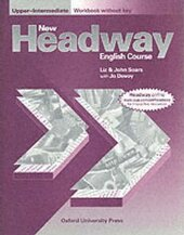 New Headway: Upper-Intermediate: Workbook (without Key) - фото обкладинки книги