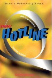 New Hotline Pre-Intermediate. Teacher's Book - фото обкладинки книги