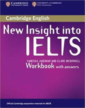 New Insight into IELTS Workbook with Answers - фото обкладинки книги