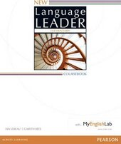 New Language Leader 2 Edition Elementary Coursebook with MyEnglishLab Pack (підручник) - фото обкладинки книги
