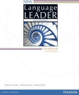 New Language Leader 2 Edition Intermediate Coursebook with MyEnglishLab Pack (підручник) - фото книги