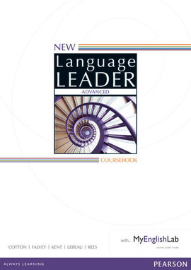 New Language Leader Advanced Coursebook with MyEnglishLab Pack (підручник) - фото книги