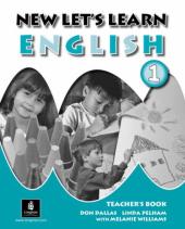 New Let's Learn English 1. Teacher's Book - фото обкладинки книги