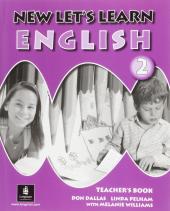 New Let's Learn English 2. Teacher's Book - фото обкладинки книги