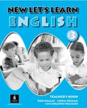 New Let's Learn English 3. Teacher's Book - фото обкладинки книги
