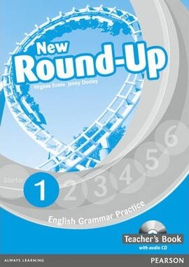 New Round-Up 1Teacher's Book + CD (книга вчителя) - фото книги