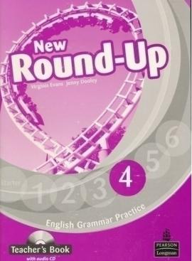 New Round-Up 4 Teacher's Book  + CD (книга вчителя) - фото книги