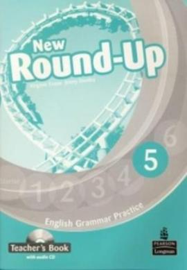 New Round-Up 5 Teacher's Book  + CD (книга вчителя) - фото книги