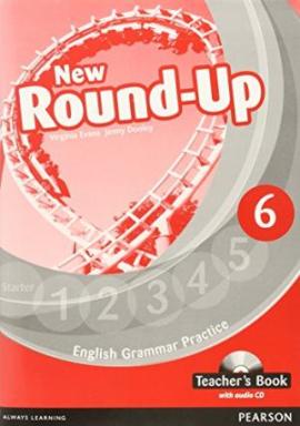New Round-Up 6 Teacher's Book  + CD (книга вчителя) - фото книги