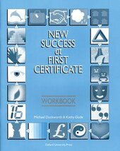 New Success at First Certificate: Workbook - фото обкладинки книги