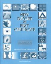 New Success at First Certificate: Workbook - фото обкладинки книги