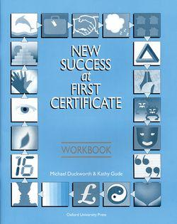 New Success at First Certificate: Workbook - фото книги