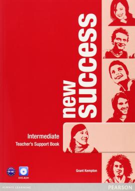 New Success Intermediate Teacher's Book+ DVD (книга вчителя) - фото книги