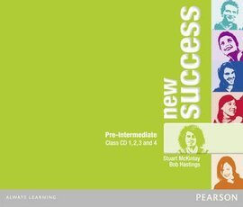 New Success Pre-Intermediate Class Audio CD (аудіодиск) - фото книги