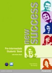 New Success Pre-Intermediate Student Book with ActiveBook(підручник) - фото обкладинки книги