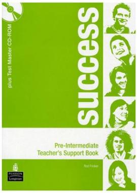 New Success Pre-Intermediate Teacher's Book+ DVD (книга вчителя) - фото книги