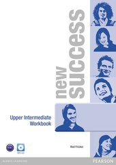 New Success Upper-Intermediate Workbook + CD - фото обкладинки книги