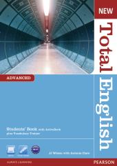 New Total English Advanced Student's Book (підручник) - фото обкладинки книги