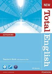 New Total English Advanced Teacher's Book (with CD-ROM) (підручник+аудіодиск) - фото обкладинки книги