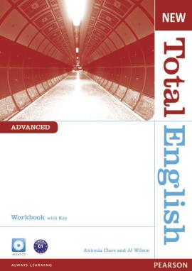 New Total English Advanced Workbook with Key and Audio CD (робочий зошит + аудіодиск) - фото книги