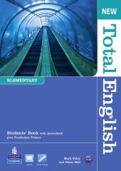New Total English Elementary Student Book with ActiveBook(підручник+аудіодиск) - фото обкладинки книги