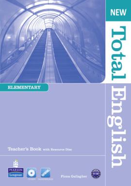 New Total English Elementary Teacher's Book+ Audio CD (книга вчителя) - фото книги