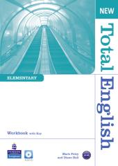 New Total English Elementary Workbook with Key and Audio CD (робочий зошит) - фото обкладинки книги
