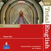 New Total English Intermediate CD (аудіодиск) - фото обкладинки книги
