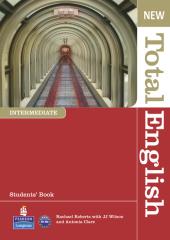 New Total English Intermediate Student's Book with Active Book (підручник) - фото обкладинки книги