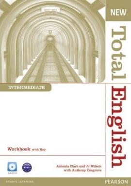 New Total English Intermediate: Workbook with key with CD (робочий зошит) - фото книги