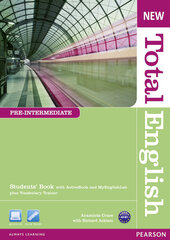 New Total English Pre-Intermediate Student's Book with Active Book + MyLab (підручник) - фото обкладинки книги