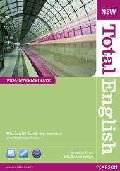 New Total English Pre-Intermediate Student's Book with Active Book (підручник) - фото обкладинки книги