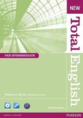 New Total English Pre-Intermediate Teacher's Book + CD (книга вчителя) - фото обкладинки книги
