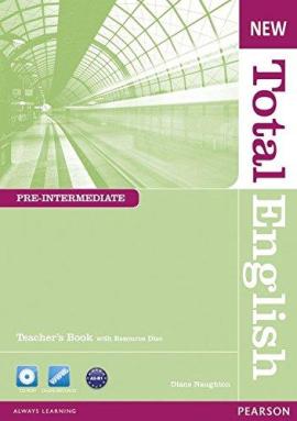 New Total English Pre-Intermediate Teacher's Book + CD (книга вчителя) - фото книги