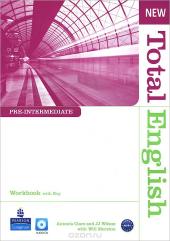 New Total English Pre-Intermediate Teacher's Book + CD (робочий зошит) - фото обкладинки книги