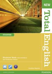New Total English Starter Student's Book with Active Book (підручник) - фото обкладинки книги