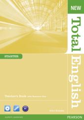 New Total English Starter Teacher's Book + CD (книга вчителя) - фото обкладинки книги
